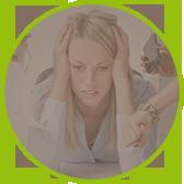Ostéopathie personnes stressées